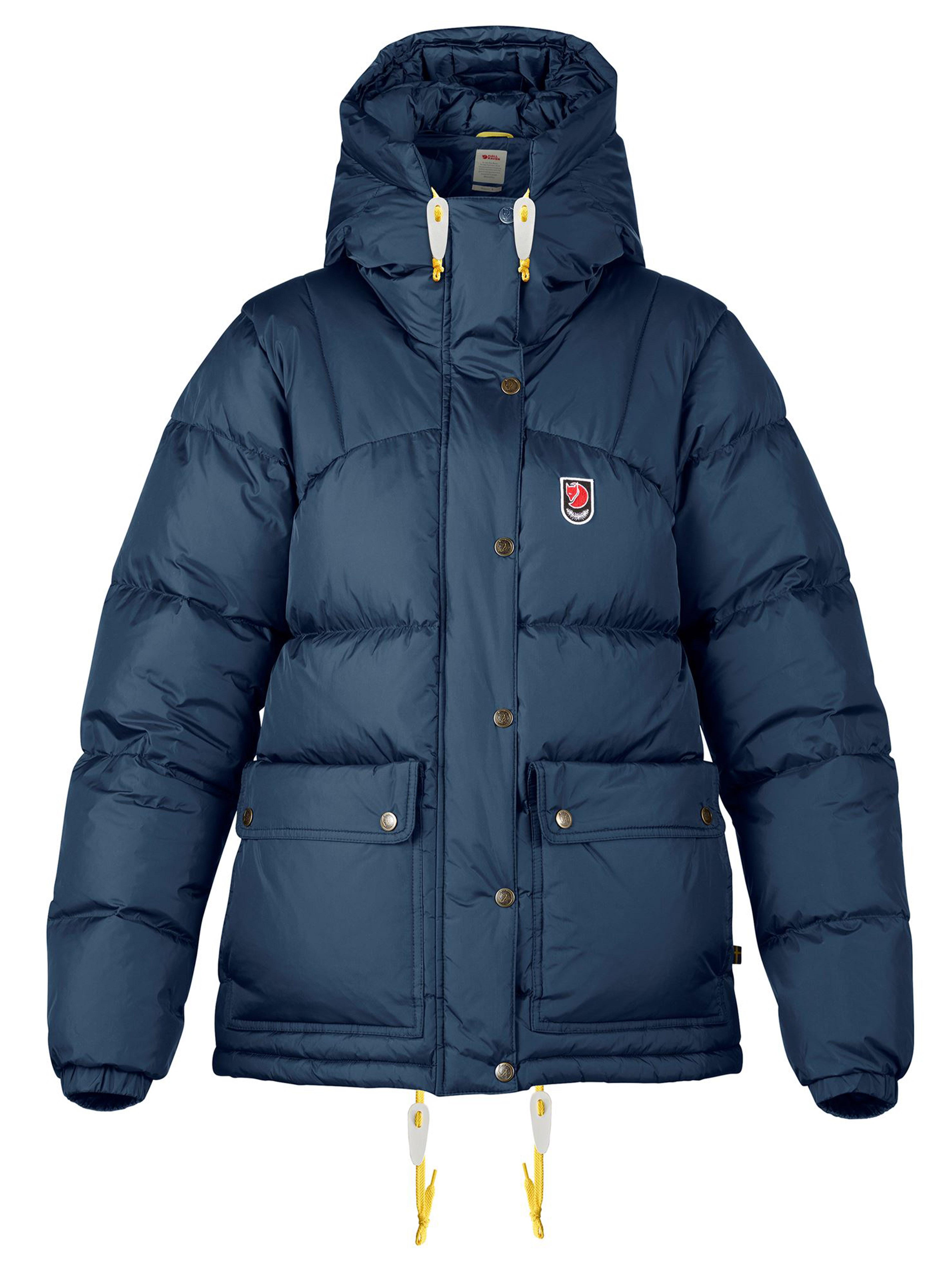 Fjällräven Dunjacka expedition down jacket w navy | NK