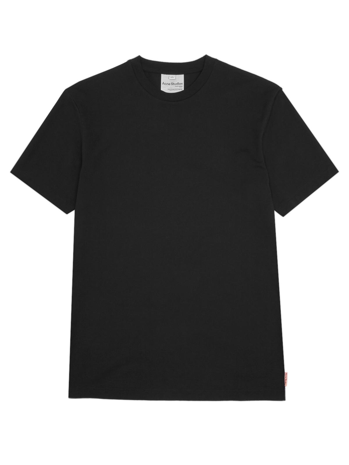 T shirt everrick pink label black